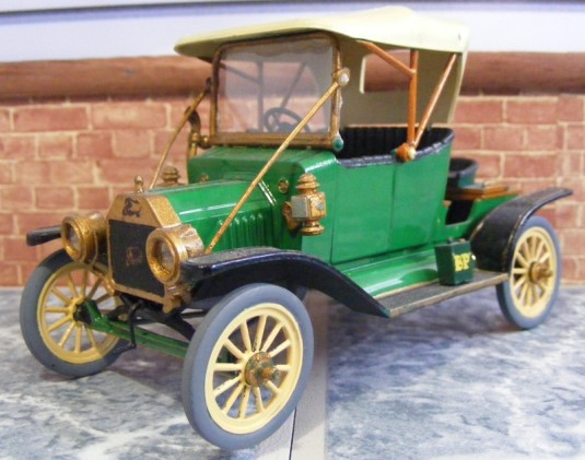 The 1915 ford model t for Ford motor company museum