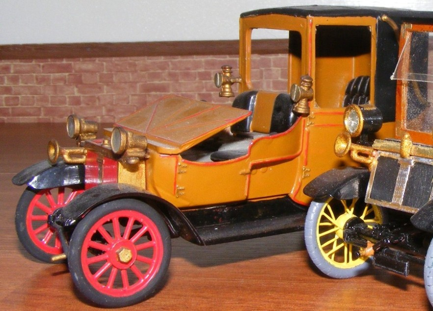 The 1899 lanchester for The frederick motor company