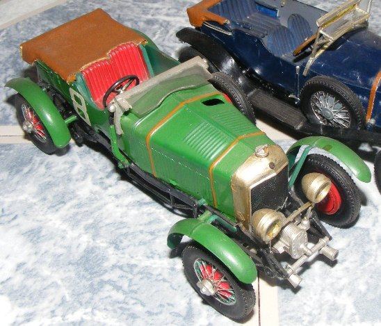 1900 Replica Kit Makes Bentley: The 1930 Bentley Blowere By Airfix
